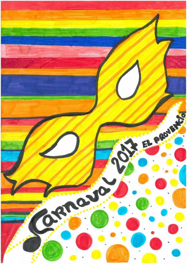 Ganador del concurso del cartel anunciador del CARNAVAL 2017