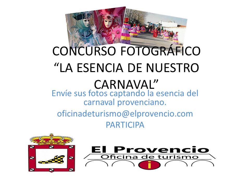 Concurso fotográfico «La esencia de nuestro Carnaval»