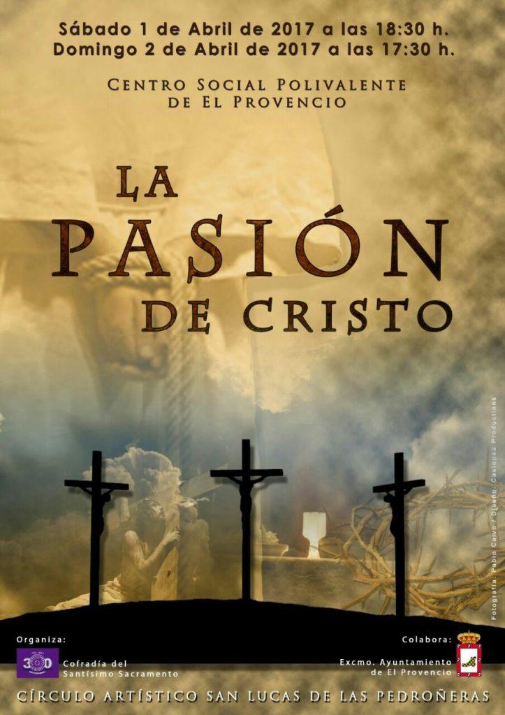 Consigue ya tu entrada para «La pasión de Cristo», espectáculo organizado por la Cofradía del Santísimo