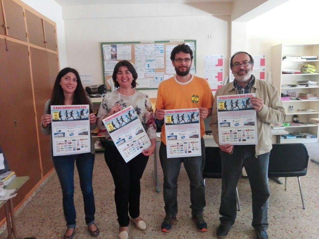 Presentado el cartel de la II RUTA SOLIDARIA INSTI-COLE que se celebrará el próximo viernes día 26 de mayo