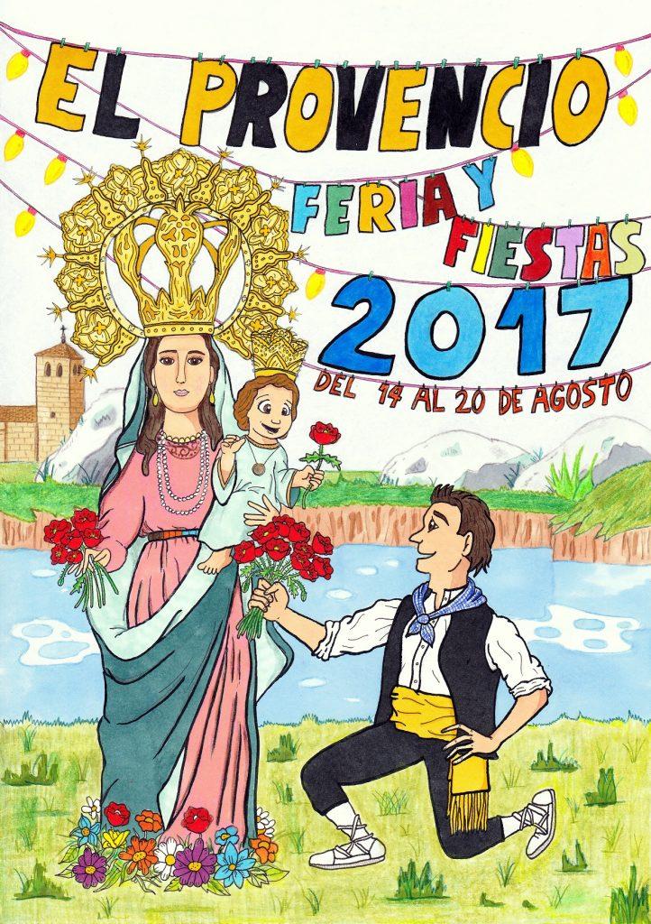Resuelto el concurso del cartel anunciador de la «Feria y fiestas 2017» de El Provencio
