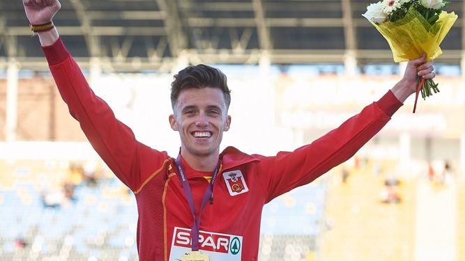 Nuestro pregonero de la Feria y fiestas 2017, medalla de oro en la prueba de 10.000 metros en el europeo sub-23 de Polonia