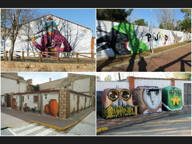 El Provencio incluido en el listado de rutas de arte urbano de España. ¡Entra en el enlace y vota por nuestro pueblo!