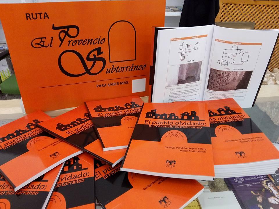 Promoción del libro «El pueblo olvidado: El Provencio subterráneo»