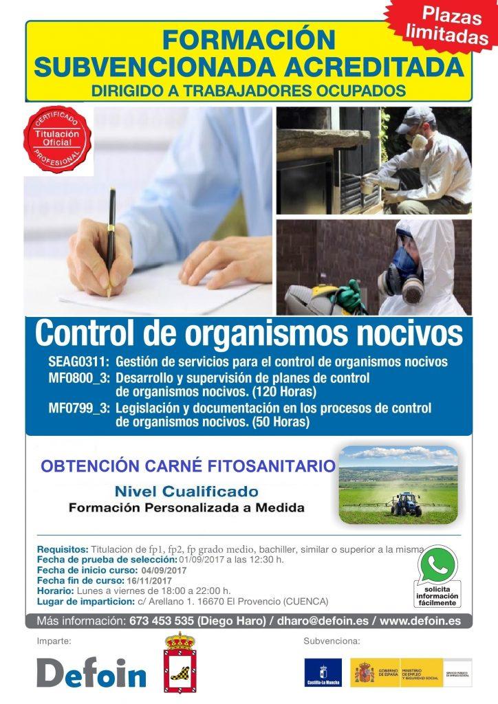 Certificado de profesionalidad ofertado por DEFOIN: últimas plazas