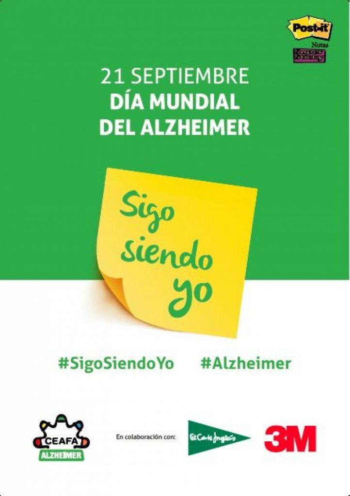 El jueves día 21 de septiembre nuestro Excmo. Ayuntamiento se une a la celebración del Día Mundial del Alzheimer