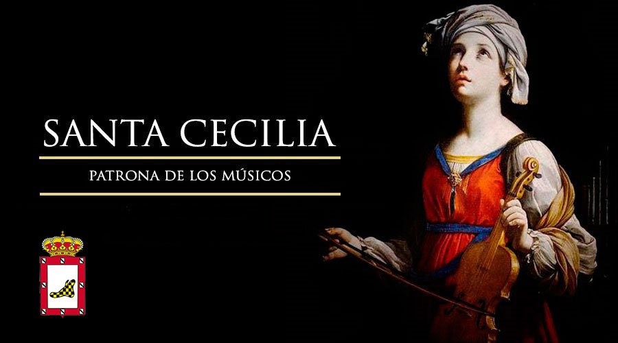 ¡Felicidades a todos nuestros músicos por el día de su patrona, Santa Cecilia!