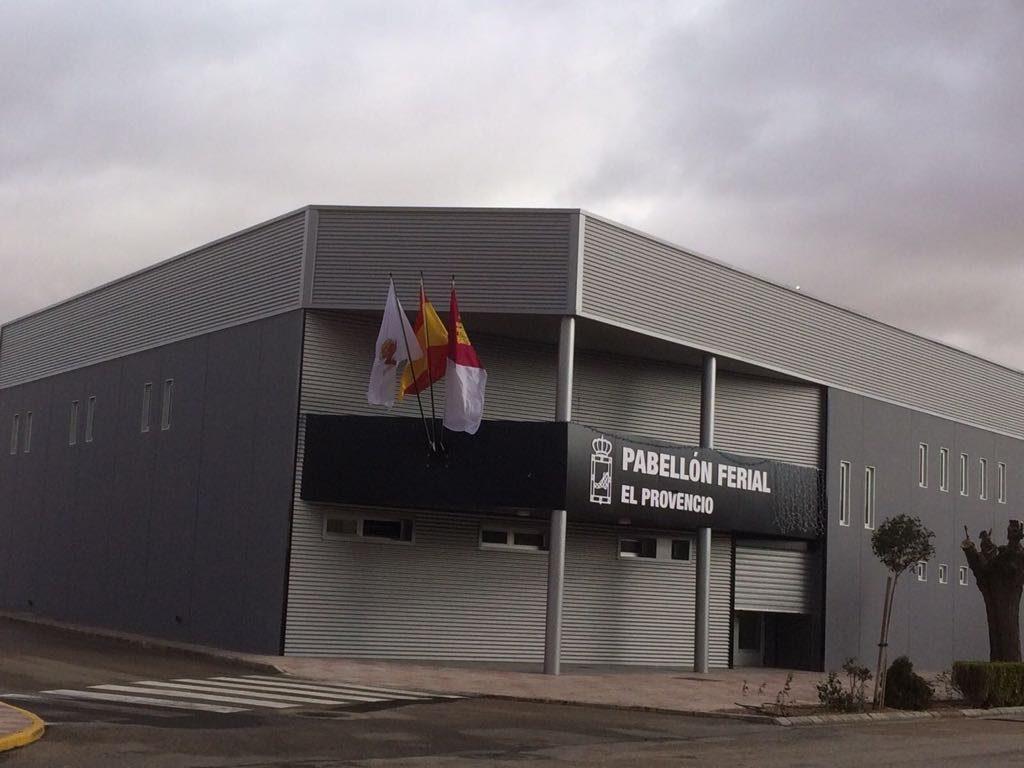 Inauguración del nuevo Pabellón Ferial Multiusos.