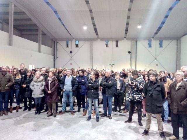 Inauguración del Pabellón Ferial Multiusos (30/12/2017)