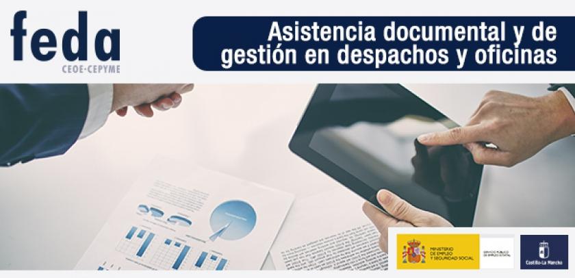 Certificado de Profesionalidad de Asistencia Documental y de gestión en despachos y oficinas