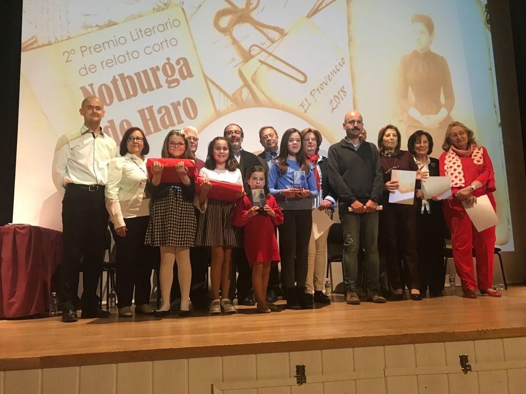 Vídeo de la Ceremonia de entrega de premios del 2º PREMIO LITERARIO DE RELATO CORTO «NOTBURGA DE HARO»