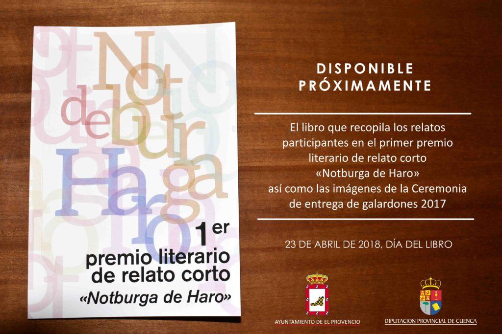 Relación de premiados en el SEGUNDO PREMIO LITERARIO DE RELATO CORTO «NOTBURGA DE HARO»
