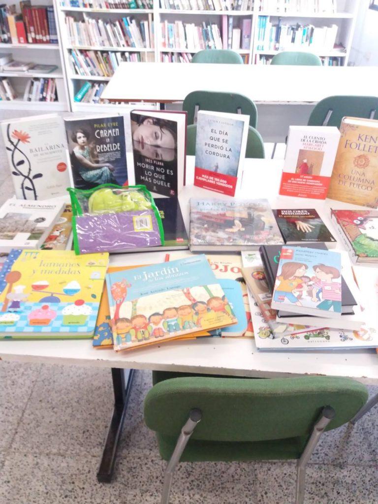 Nueva adquisición de libros destinada a nuestra biblioteca municipal «Notburga de Haro»