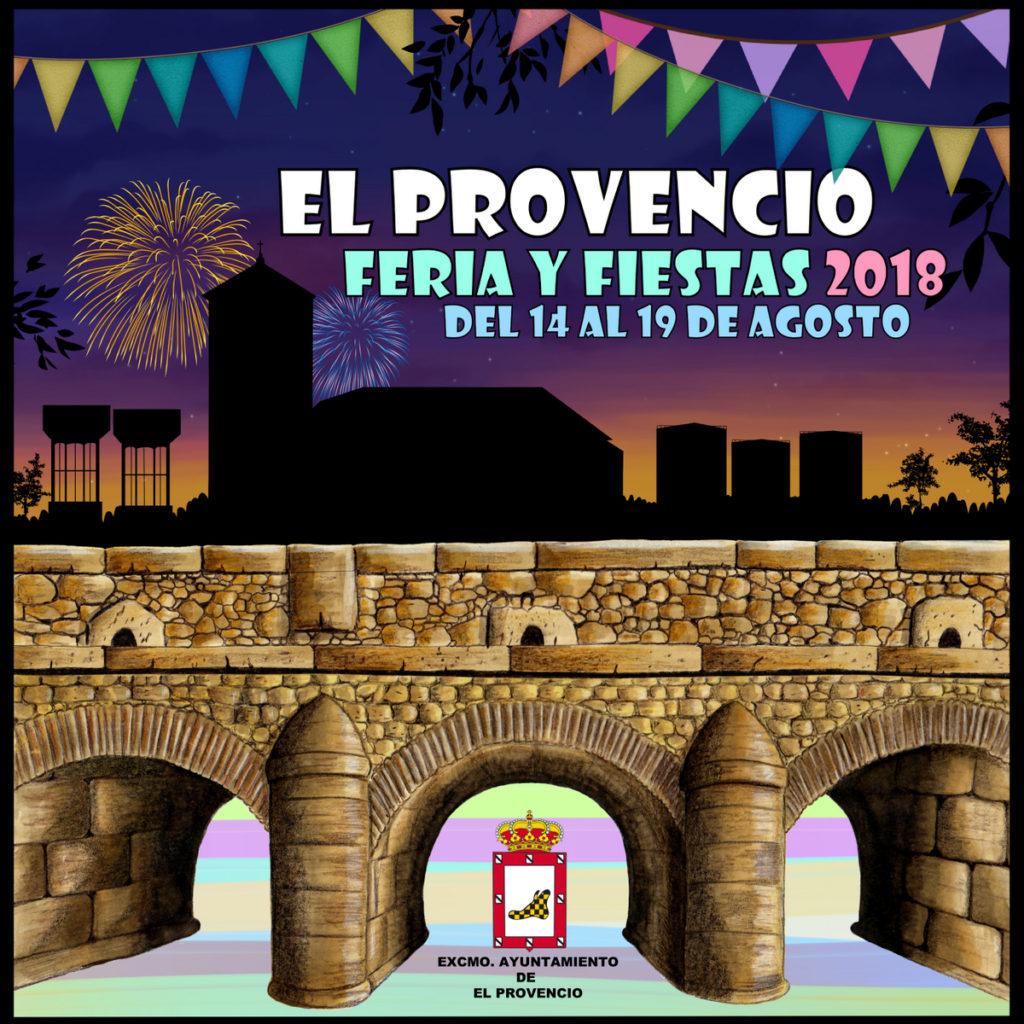 Resuelto el concurso del cartel anunciador de la «Feria y fiestas 2018» de El Provencio