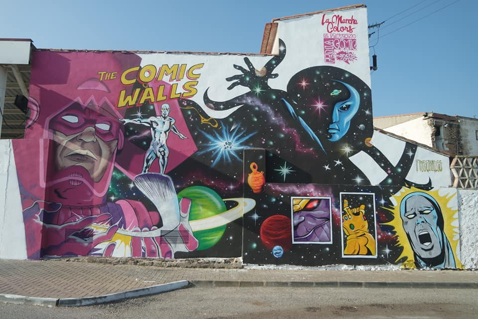 Galactus y Silver Surfer