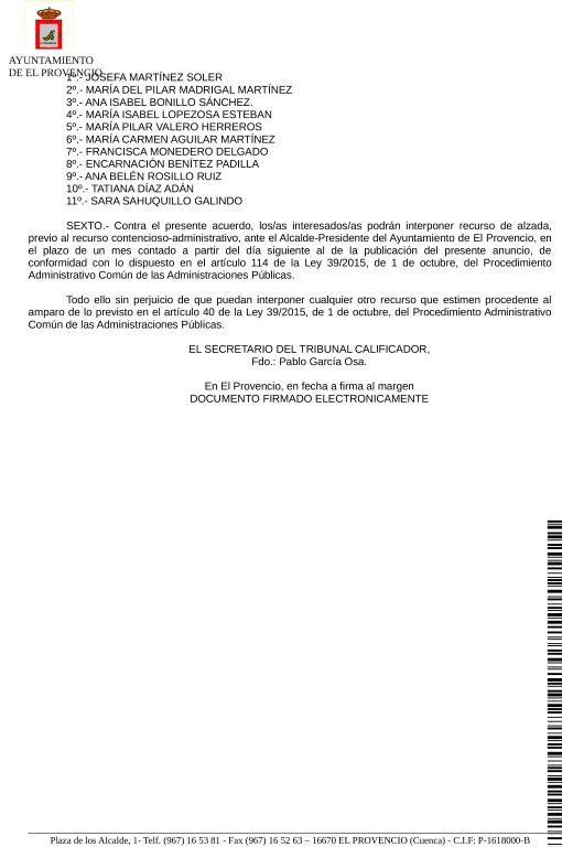 Anuncio del Tribunal Calificador de las pruebas selectivas para la formación de una bolsa de trabajo de auxiliar/gerocultor-a de la vivienda de mayores, relativo a las reclamaciones presentadas por las aspirantes.