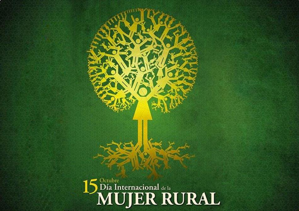 Hoy lunes día 15 de octubre se celebra el Día Internacional de la Mujer Rural