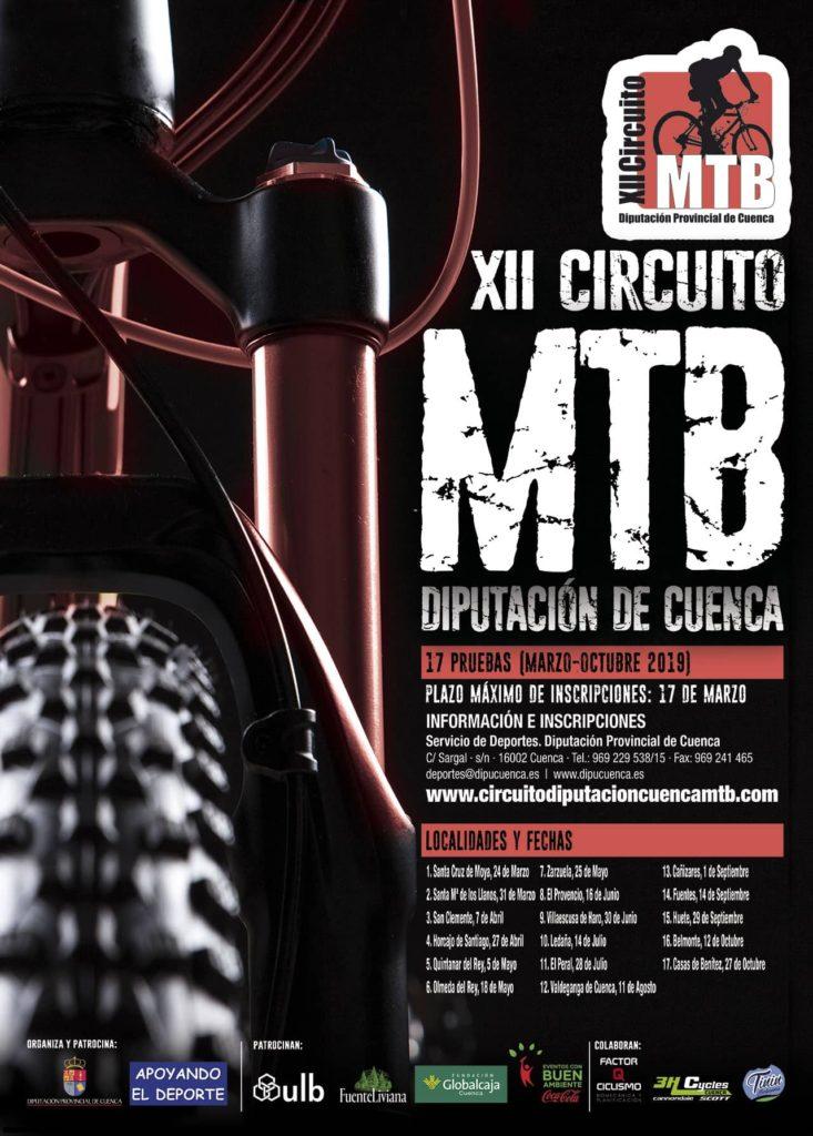 La 8º Prueba del circuito provincial de MTB en El Provencio