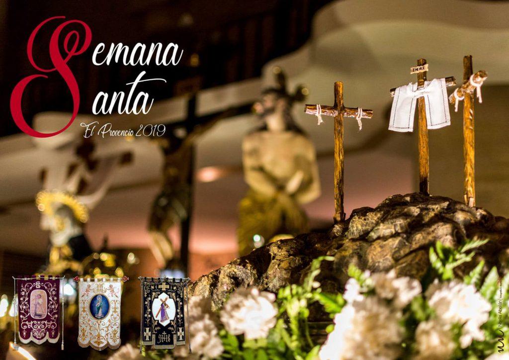 Horario de actos litúrgicos y procesionales en la Semana Santa de El Provencio 2019