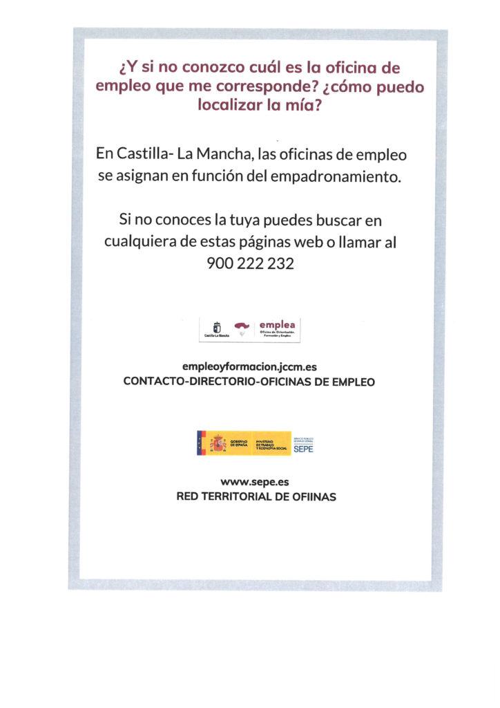 INFORMACIÓN SERVICIO EMPLEA