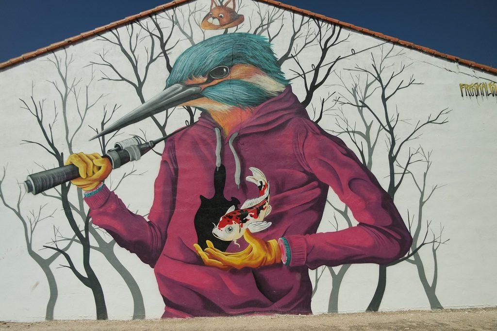 Mural Martín Pescador